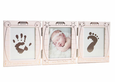 Baby Hand And Footprint Photo Frame