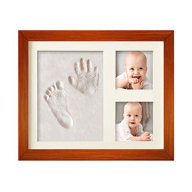 China White Promotional Baby Clay Frame Return Gift For Kids Birthday Party supplier