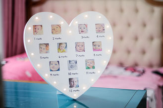 Baby First 12 Months Photo Frame