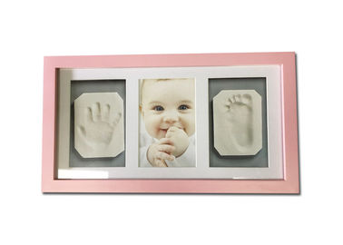 Pink Baby Clay Frame Air Dry Light Clay Life Memory Shower Gift Without Cracking