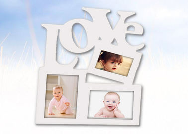 China Adult Wedding Window Wooden Photo Frames Personalized 3 For Loving Gifts factory