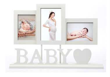 Baby Wooden Photo Frames Handprint / Footprint Photo Frame Home Decoration Gifts