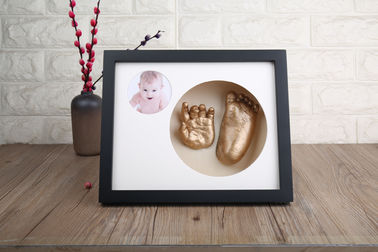 Muiti Color Baby 3D Baby Casting Kit Picture Frame For Newborn Infant